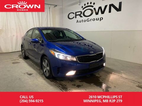 Pre-Owned 2018 Kia Forte EX/ ONE OWNER/ LOW KMS/ HEATED FRONT AND REAR SEATS/ BLUETOOTH/ BACKUP CAMERA