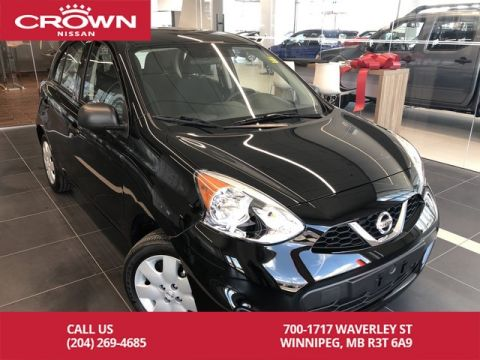 Pre-Owned 2017 Nissan Micra S Hatchabck *Clean CarFax/LOW KMs*
