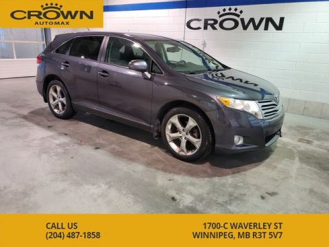 Pre-Owned 2010 Toyota Venza V6 AWD **Local Manitoba Vehicle**
