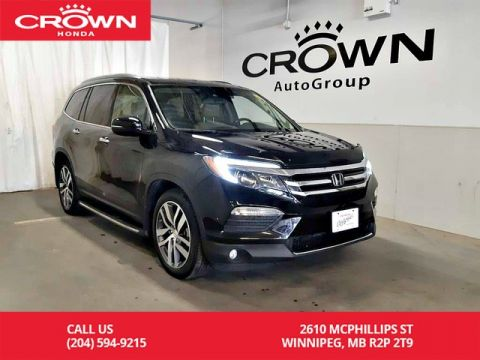 Pre-Owned 2016 Honda Pilot Touring/ PUSH START/ SUNROOF/ HEATED SEATS/ ECON MODE/ NAVIGATION/ REAR ENTERTAINMENT SYS