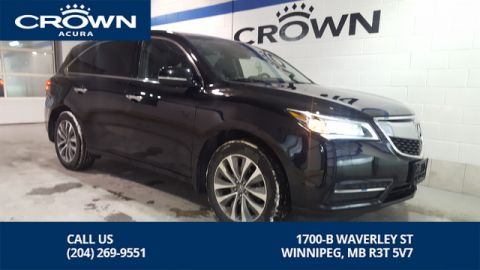 Pre-Owned 2016 Acura MDX Navi SH-AWD **Local Lease Return** Includes Certified Warranty**