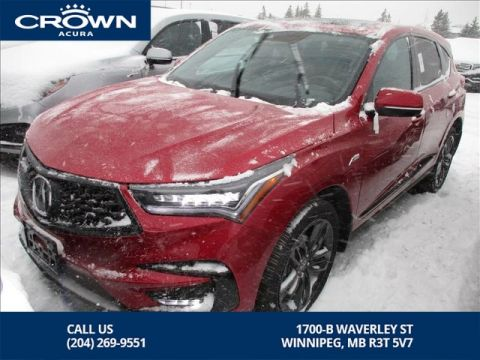 Pre-Owned 2019 Acura RDX A-Spec AWD **Former Acura Canada Executive Demo** Save Over 8 Thousands off New**
