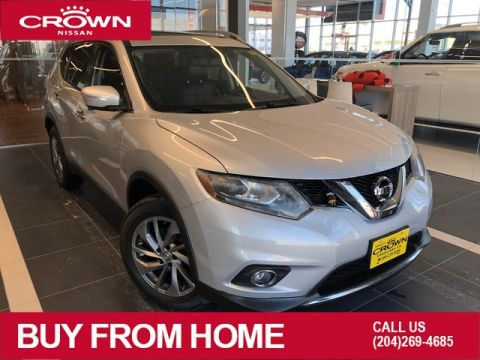Pre-Owned 2015 Nissan Rogue SL AWD *Navigation/Heated Seats/Remote Start*