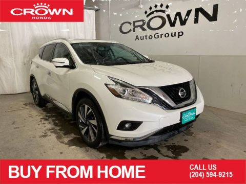 Pre-Owned 2017 Nissan Murano Platinum/ ACCIDENT FREE/ LOW KMS/ PUSH START/ HEATED STEERING WHEEL/ HEATED FRONT SEATS