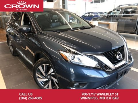 Pre-Owned 2017 Nissan Murano Platinum AWD V6 *Accident Free/Navi/360 Backup Cam*