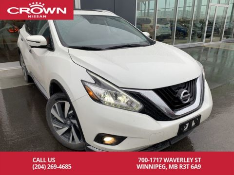 Pre-Owned 2017 Nissan Murano Platinum AWD *360 Backup Cam/Bluetooth/Cooled Seats*