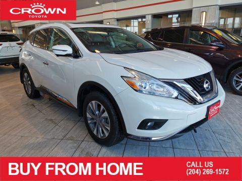 Pre-Owned 2016 Nissan Murano SL / CROWN ORIGINAL / AWD / LEATHER / PANORAMIC SUNROOF / HEATED SEATS / LOW KMS