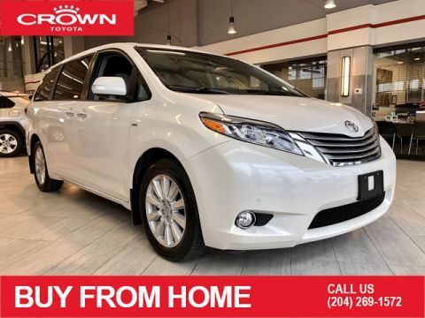 Certified Pre-Owned 2017 Toyota Sienna | Crown Original | Local Trade | One Owner | XLE 7-Pass AWD Limited