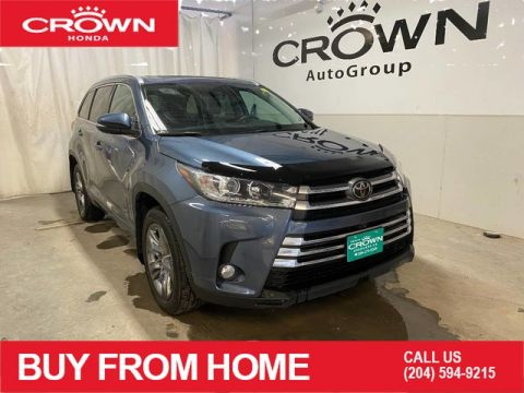 Pre-Owned 2018 Toyota Highlander AWD Limited/ LOW KMS/ HEATED AND REAR SEATS/ NAVIGATION/ PANORAMIC SUNROOF/ BACKUP CAMERA/ BLUETOOTH