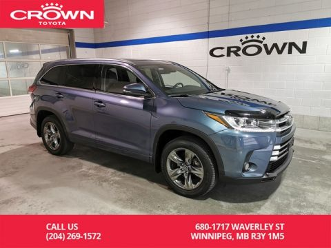 Certified Pre-Owned 2017 Toyota Highlander Limited AWD / Crown Original / Clean Carproof / Lease Return / Great Condition