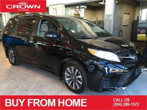 Certified Pre-Owned 2018 Toyota Sienna | Crown Original | Local Trade | One Owner | LE 7-Passenger | AWD