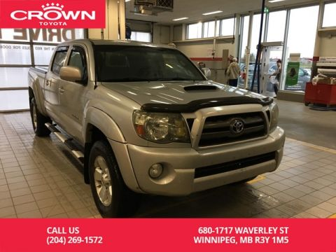 Pre-Owned 2010 Toyota Tacoma TRD Sport Double Cab 4WD / Local / One Owner / Highway Kms / Great Condition