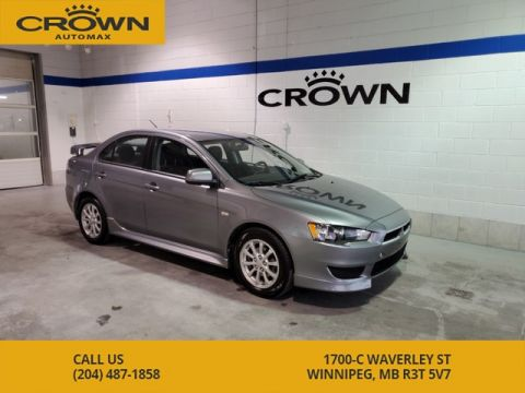 Pre-Owned 2012 Mitsubishi Lancer CVT SE AWD **Local Manitoba Car**