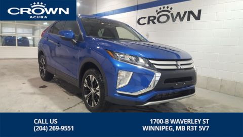 Pre-Owned 2019 Mitsubishi Eclipse Cross ES AWD **10 Year Warranty** Heated Seats**