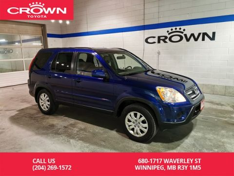 Pre-Owned 2005 Honda CR-V EX-L Auto 4WD / Accident Free / One Owner / Local / Low Kms / Great Condition