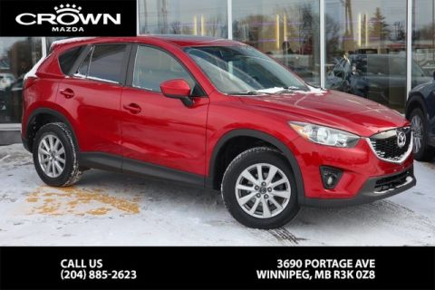 Pre-Owned 2015 Mazda CX-5 GS **Accident Free/Low KM/One Owner**
