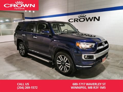 Certified Pre-Owned 2017 Toyota 4Runner Limited 7 Pass / Accident Free / Low Kms