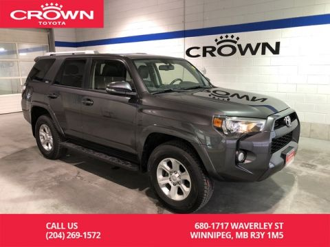 Certified Pre-Owned 2018 Toyota 4Runner SR5 4WD / Clean Carproof / One Owner / Navigation