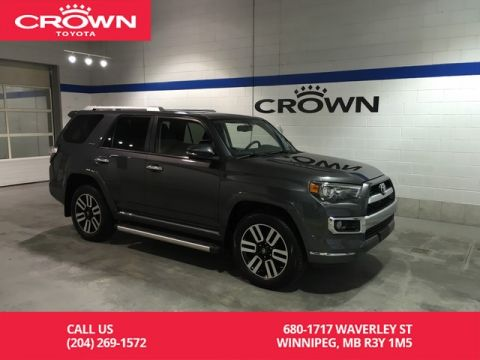 Pre-Owned 2017 Toyota 4Runner Limited 4WD 7Pass / Crown Original / Accident Fee / Low Kms